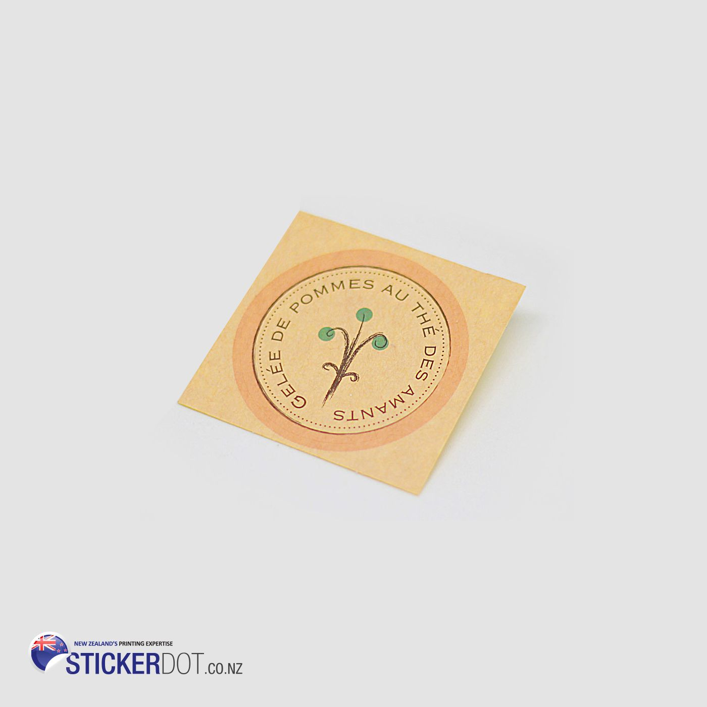Cheap kraft paper stickers available at stickerdot guaranteed for high quality print