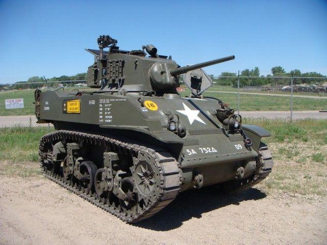 M5A General Stuart light tank