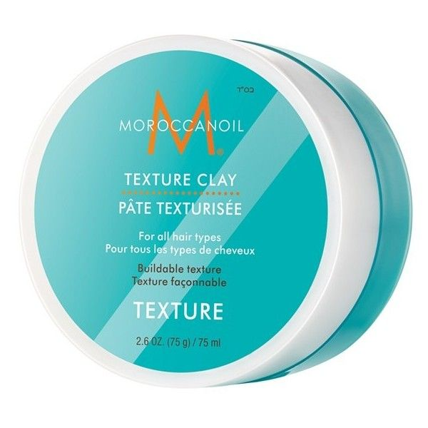 MOROCCANOIL Texture Clay (225 SVC) ❤ liked on Polyvore featuring beauty products, haircare, styling products and no color