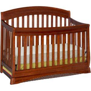 Delta Children S Products Silverton 4 In 1 Fixed Side Crib Dark Cherry Walmart For 149 98 Convertible Crib Espresso Cribs 4 In 1 Crib