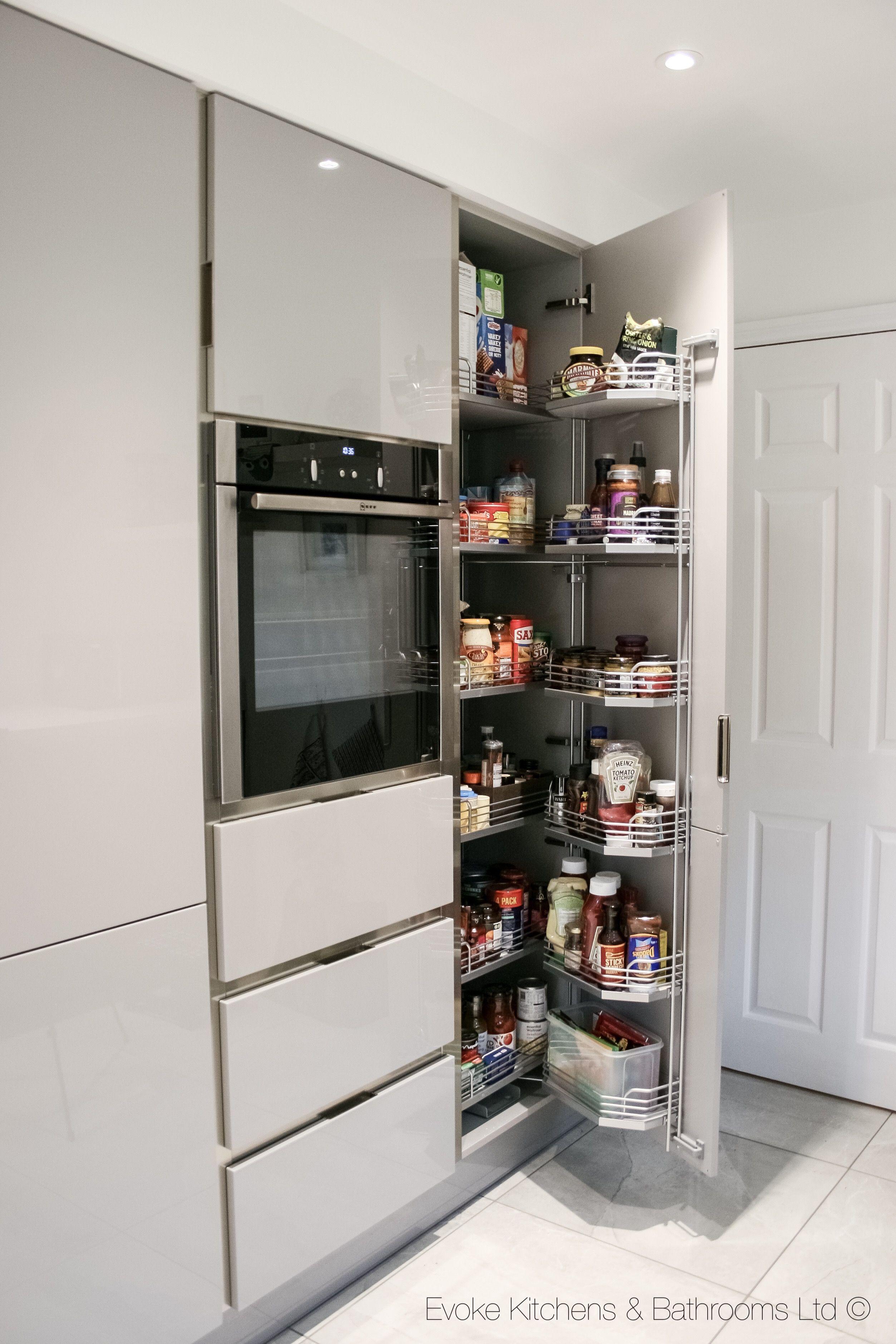 Kitchen pantry   Kitchen room design, Modern kitchen cupboards ...