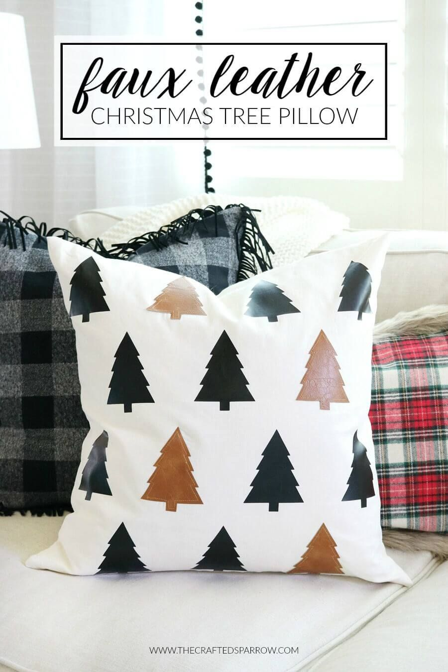 26 Cute DIY Pillow Ideas that Can Brighten Any Room | Winter crafts ...