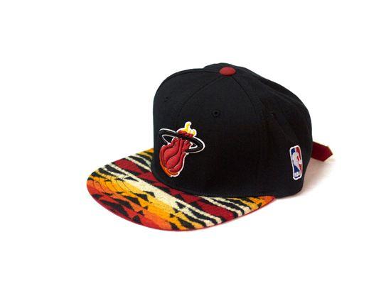 8210be22236 ... cheap the genesis online miami heat pendleton strapback miami heat  basketball nba season strapback cap e1ef7