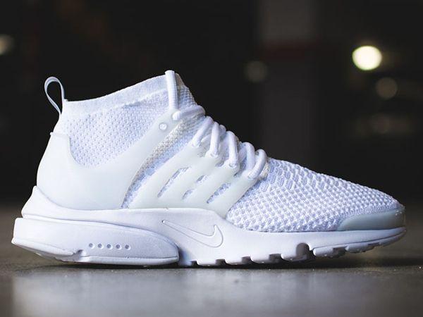 Nike Presto Flyknit Ultra Triple White