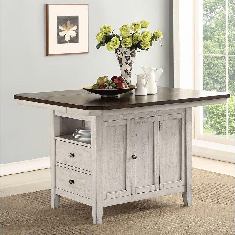 August Grove Eaglin Kitchen Island Reviews Wayfair Home Decor Kitchen Design Furniture