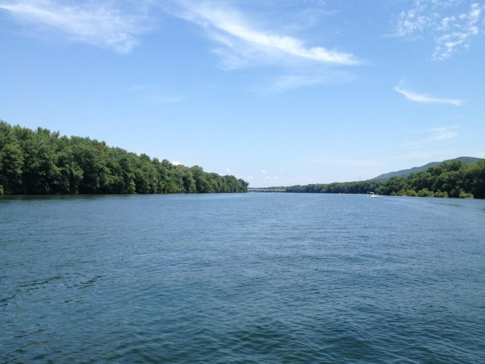 Susquehanna River.  Near Williamsport, PA.