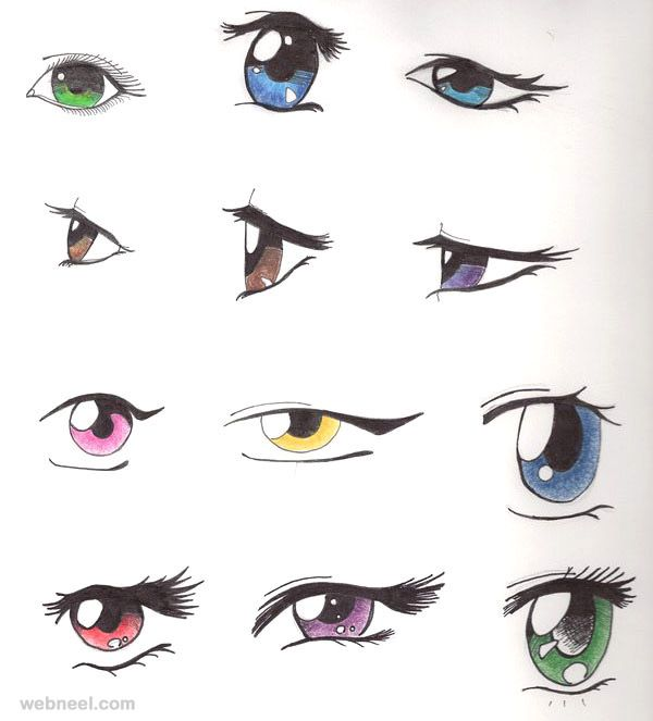 How To Draw Anime Tutorial With Beautiful Anime Character Drawings Anime Character Drawing Anime Eyes Anime Drawings