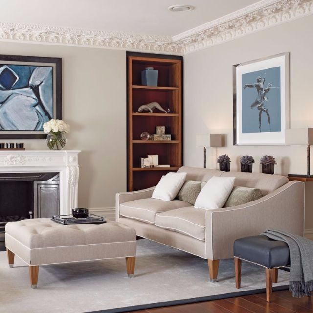 Chic Elegance Of Neutral Colors For The Living Room 10 Amazing Examples: DESIGN FORCES On Living Room Furniture