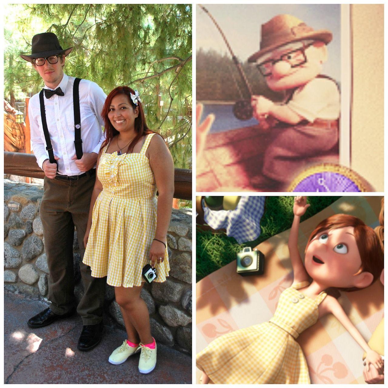 Carl and Ellie Fredrickson | Disney bound outfits, Dapper ...Young Carl And Ellie Disneybound