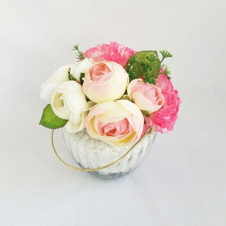 Small Bouquet Chic Vase * It is like a small and cute bouquet! It is ...