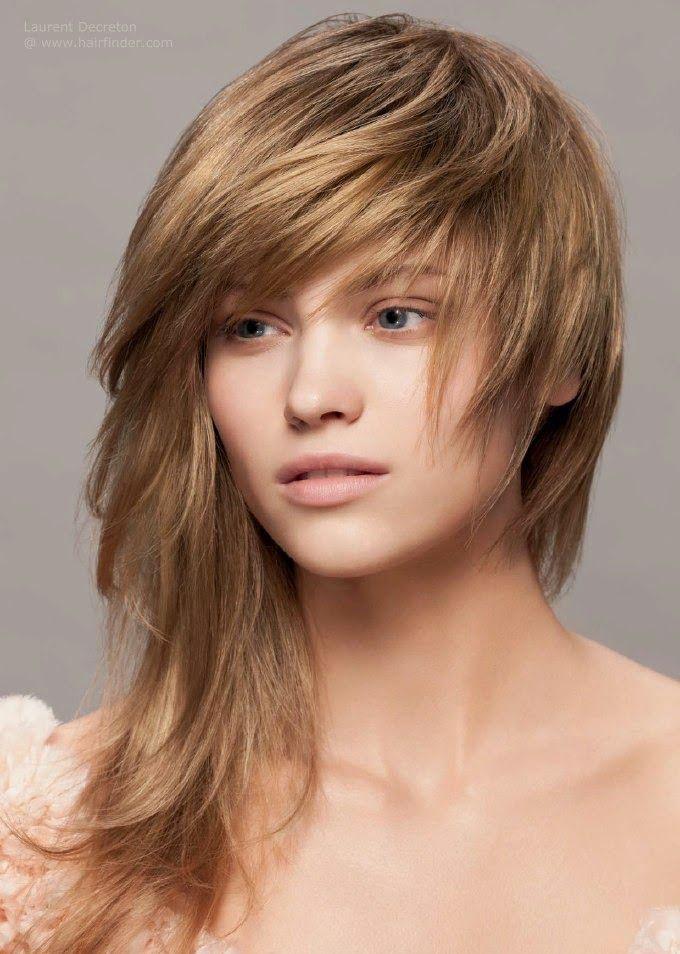 mellan långa frisyrer 2016