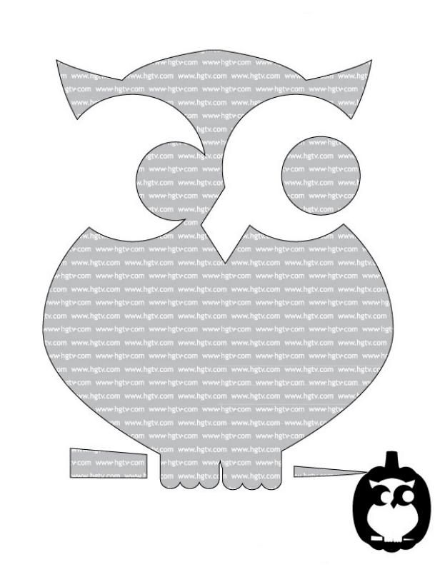41 Printable (and Free!) Halloween Templates Pumpkin carvings, Owl - free halloween decorations printable
