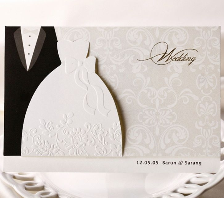 Wedding Invitation Cards Kit Bh2046 With Envelopes Seals Personalized Printing Wedding Invitation Cards Wedding Invitation Paper Chinese Wedding Invitation Card