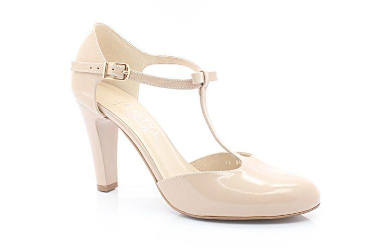 Kotyl 5871 Roz Lakier Buty Damskie Doskonale Do Tanca Skora Naturalna Buty Damskie Czolenka Pora Roku Damskie Wiosna Pora Roku D Heels Shoes Fashion
