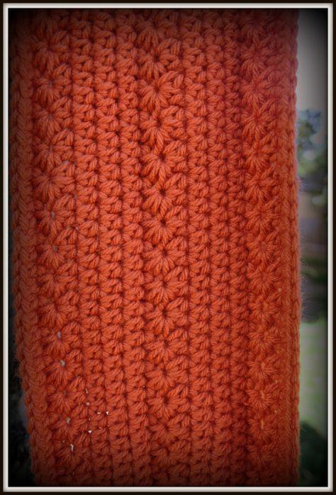 FREE Crochet Pattern: Pumpkin Infinity Scarf   Infinito, Calabazas y ...