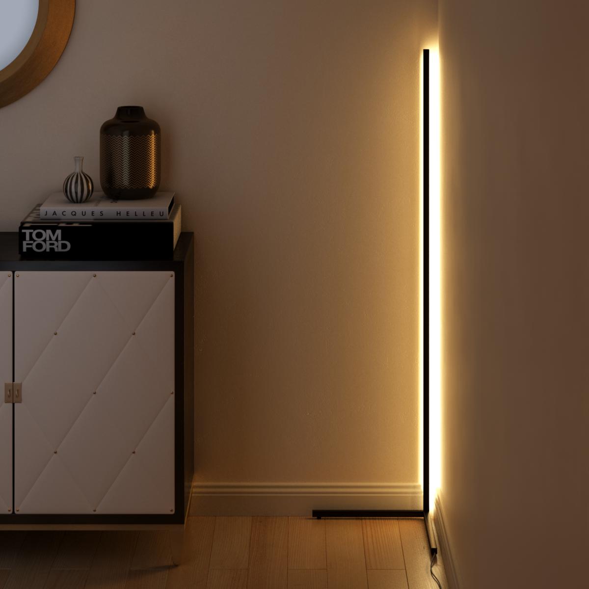 Minimal Lamp Original Minimalamp Corner Floor Lamp Corner Lamp Mood Lamps