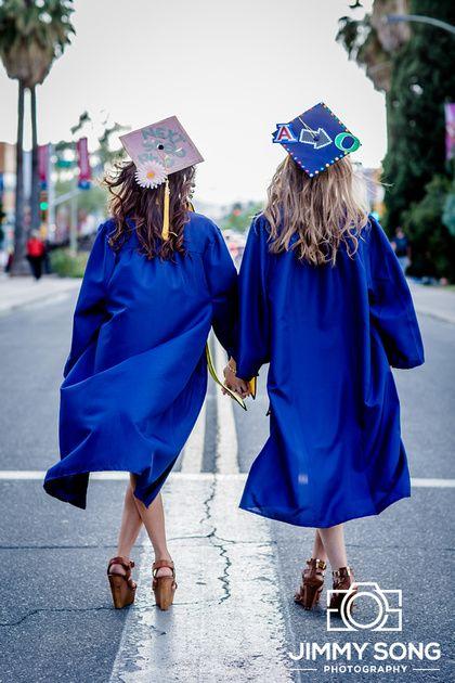 University of Arizona Senior Graduation Grad Photo Portraits Idea Fun Smile Happy Sorority Dress Pose Cap Gown