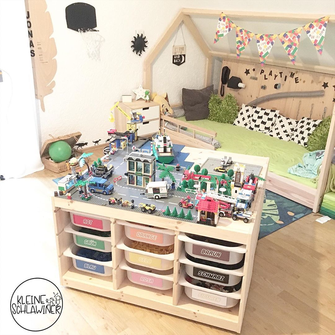 20 best IKEA hacks on Instagram 2019 Lego tisch, Kinder