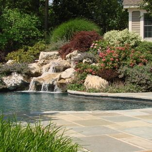 Livingston Nj - traditional - pool - New York - Landscape Techniques Inc.
