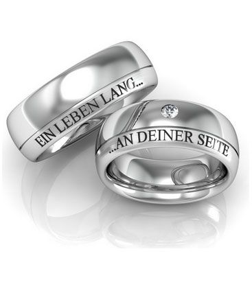 Spruche Fur Eure Trauringe Hochzeit Pinterest Wedding Rings