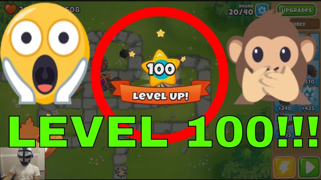 BLOONS TD 6 LEVEL 100 REACHED   !!!!! AM I THE FIRST