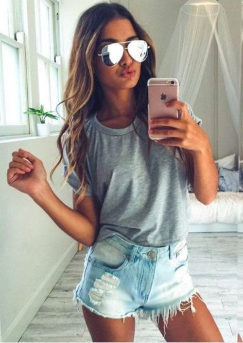 f70e2004f6 Teen summer outfits 2017-2018 | cute outfits/shoes | Summer outfits ...