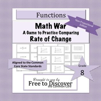 a linear function describes math relationship with constant rate of change
