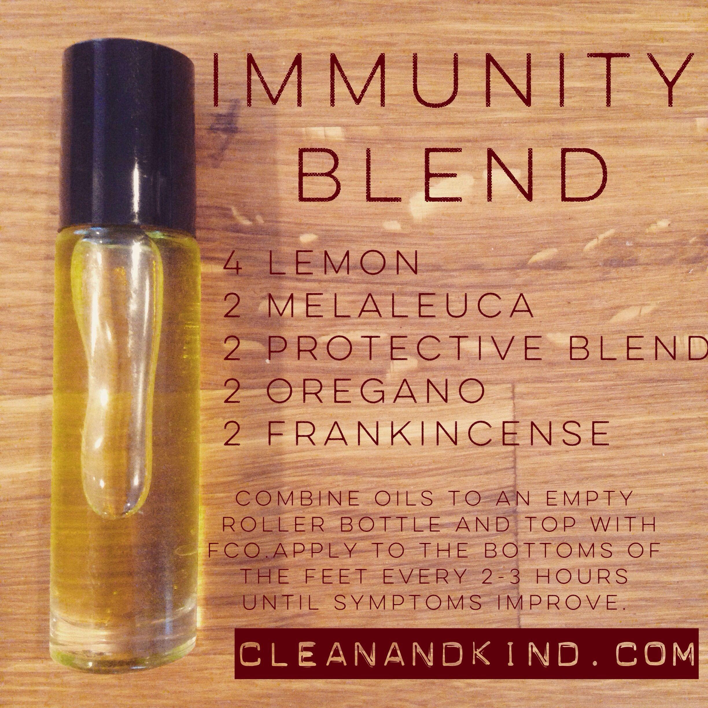 Doterra Immunity Blend Oils Essential Oil Blends