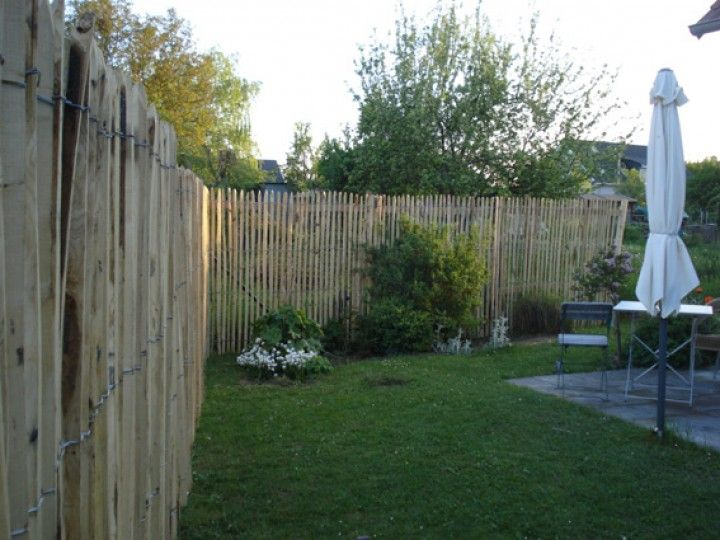 kleine zimmerrenovierung dekor zaun staketen, staketenzaun sichtschutz höhe 1,75m lattenabstand 2-3cm rolle 5m, Innenarchitektur