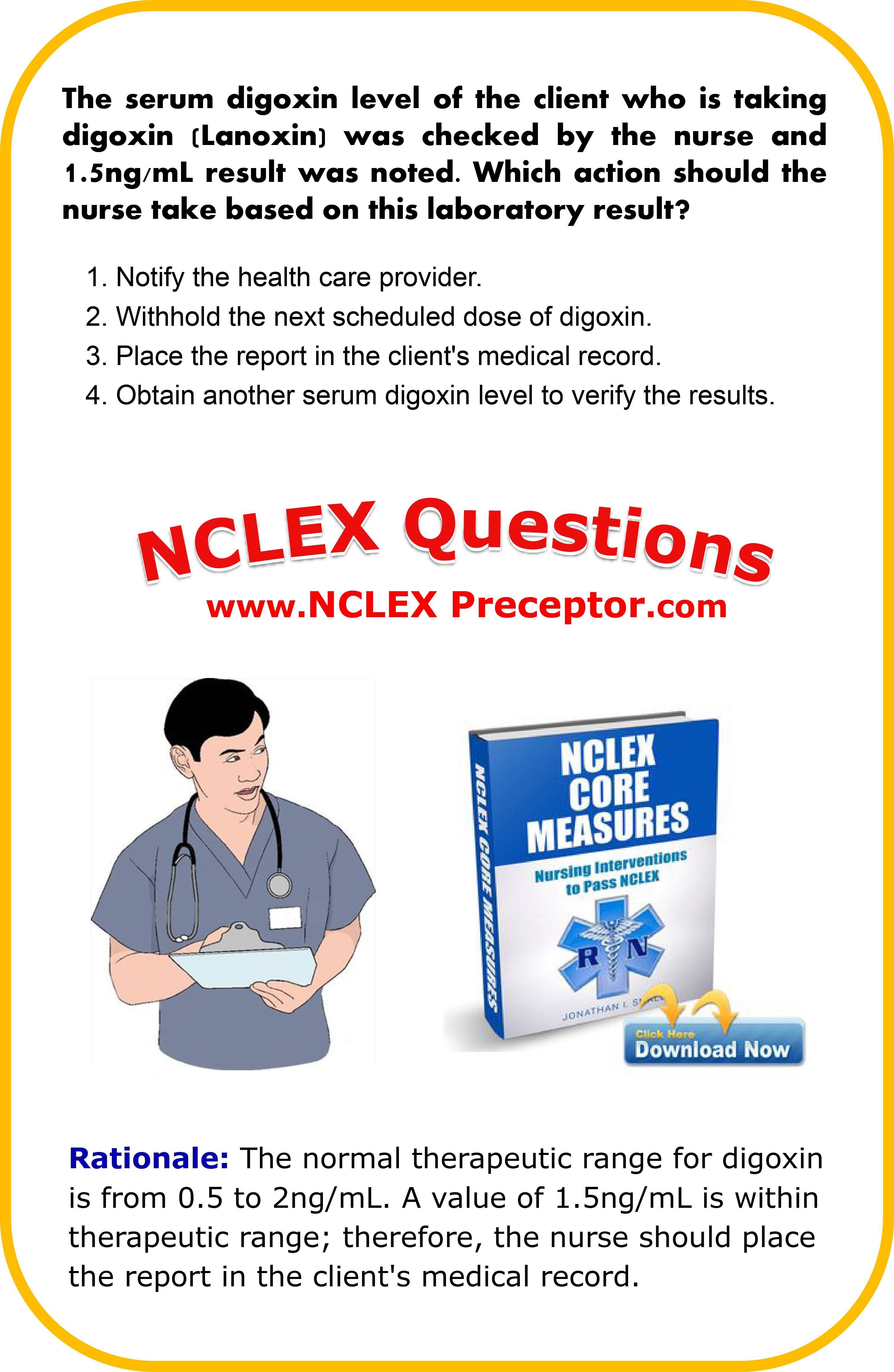 Nclex Review Questions For Nurse Rn Lexpreceptor Nclexcoremeasures