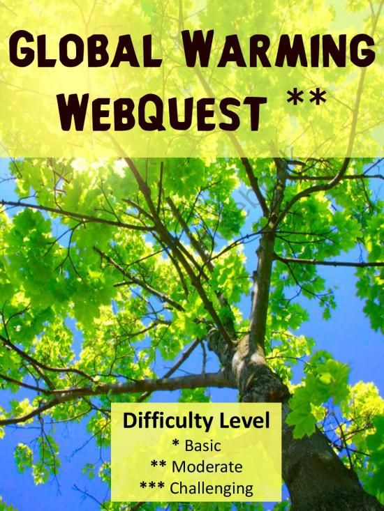 Global Warming Webquest Q for K - 2 advanced students product from - task manager spreadsheet template