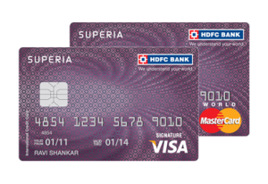 Hdfc Credit Card Superia Card Bankingdoctor Com Types Of Credit Cards Credit Card Transfer Credit Card