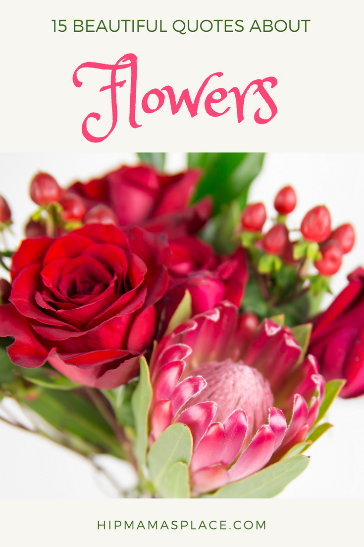 beautiful quotes about flowers a teleflora com gift card