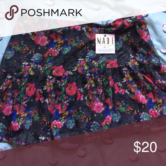 MADE For Impulse Floral SKIRT ASO TEEN WOLF As seen on Lydia Martin from Teen Wolf. From Macy's. impulse Skirts Mini