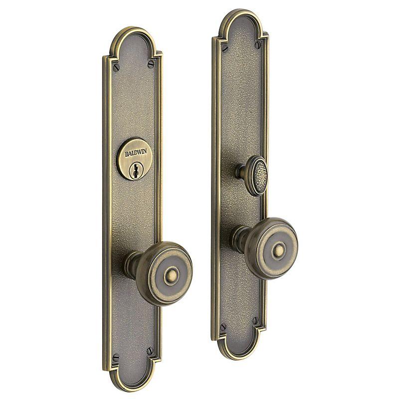 San Francisco Entrance Trim 6541 050 Polished Brass Brass Baldwin Hardware