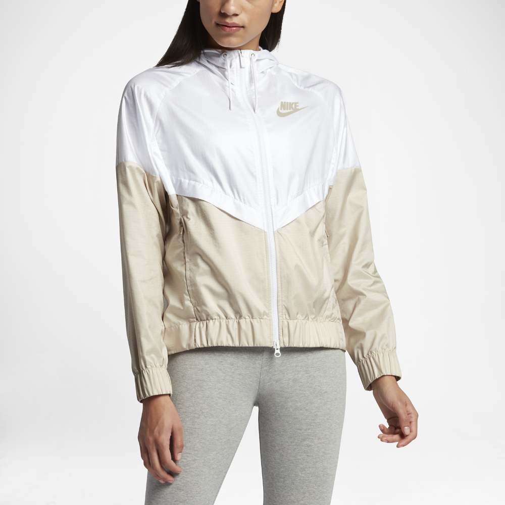 Nike Sportswear Windrunner Women s Jacket Size Medium (White) - Clearance  Sale 33b5cac91