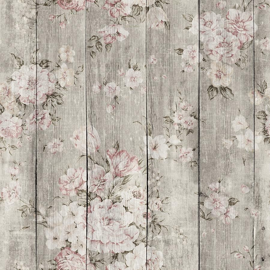 Wood Texture Floral Wood Wallpaper Wood Texture Farmhouse