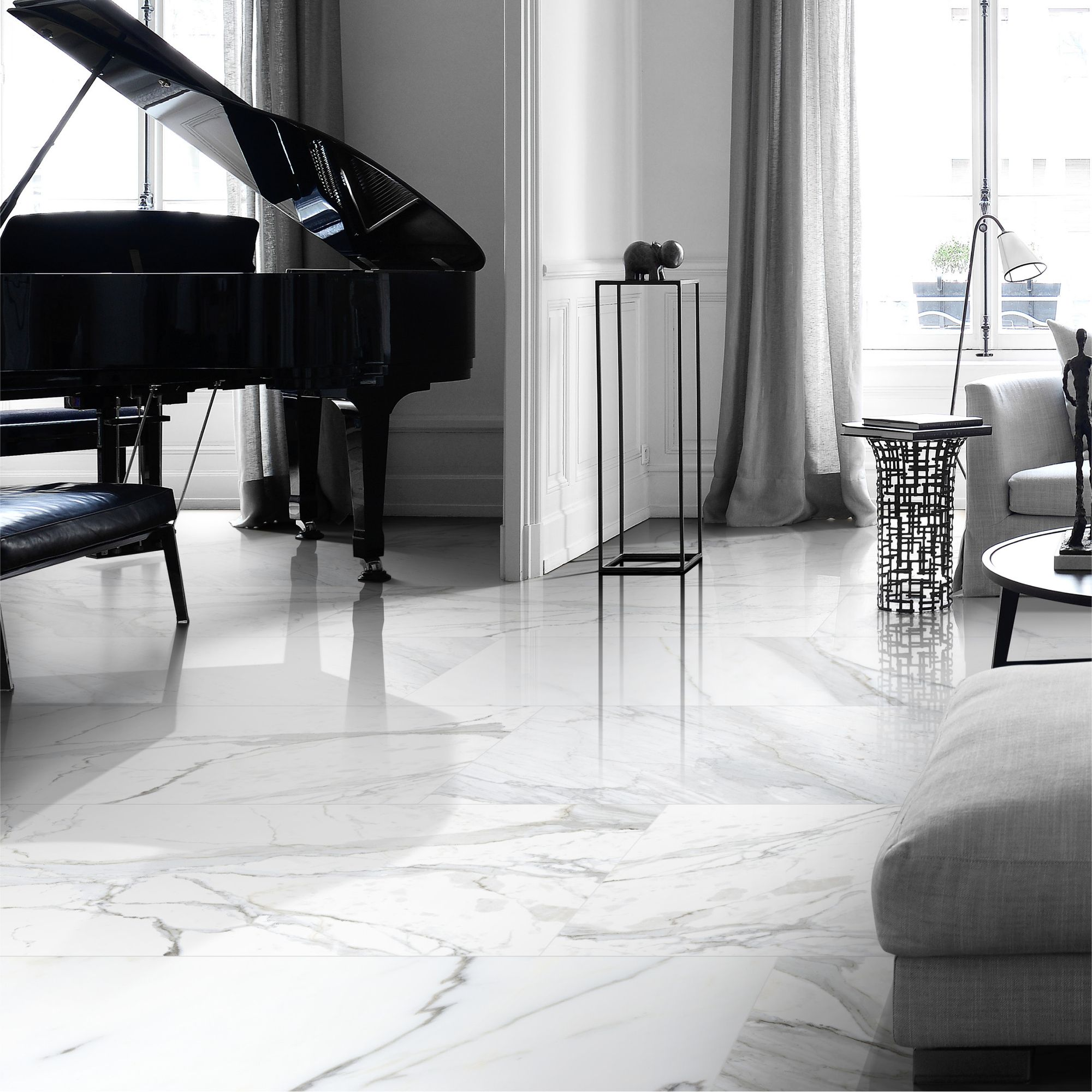 AVALON MUSE 3.0 CALACATTA THE NEW OLD CLASSIC – There's nothing like the iconic look of exquisite Calacatta marble. Unless, of course, you consider Avalon Muse Calacatta. Porcelain tiles with all the charm of marble, but with the outstanding durability of porcelain. Talk about the best of both worlds! . . #InteriorDesign #interiordesigns #modernhome #interior123 #interiordesire #interiordetails #interiorforinspo #topstylefiles#tile #tiles #porcelain #TileStyle #tiledesign #subwaytile