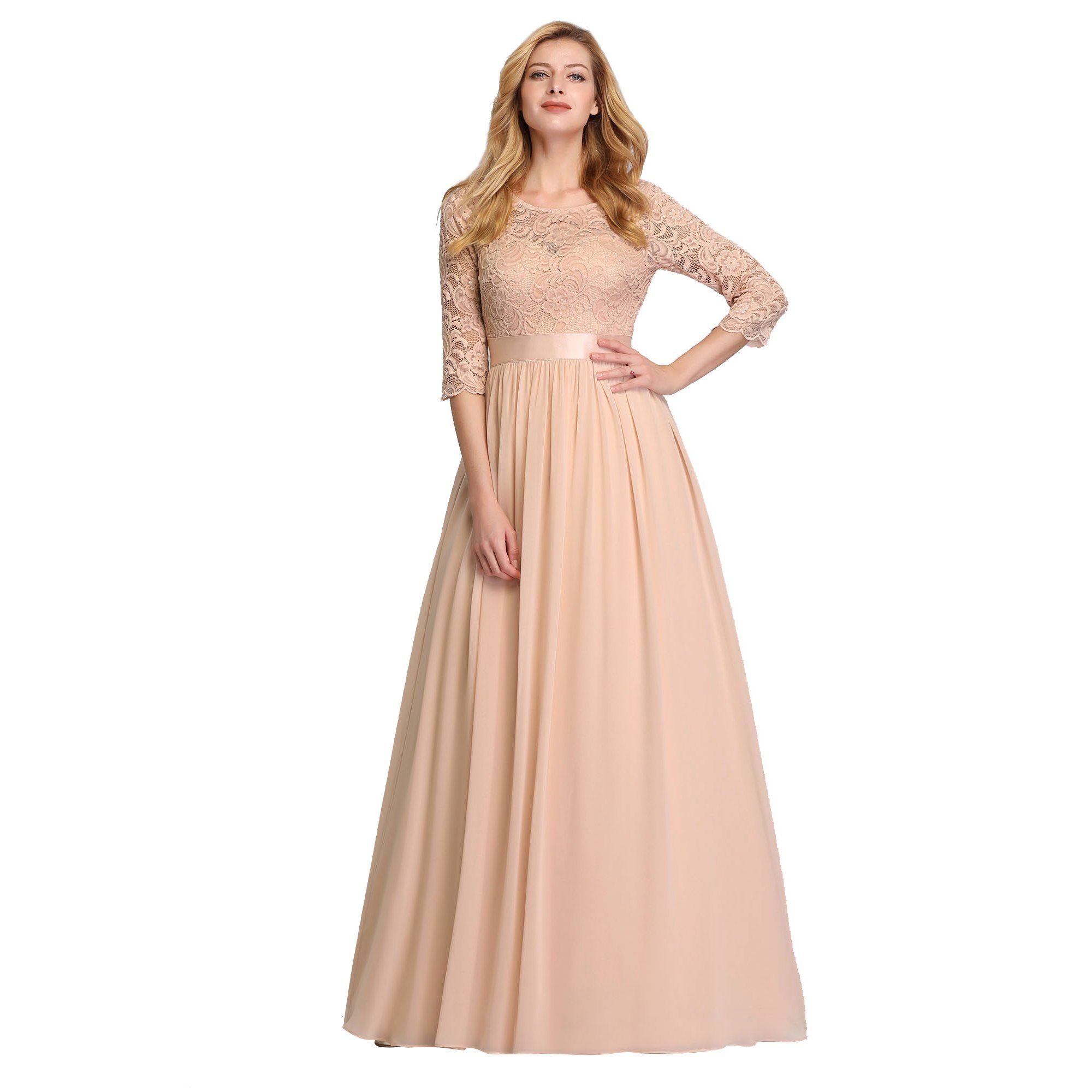 Ever Pretty Ever Pretty Women S Elegant Long Fit And Flare Sheer Lace Summer Beach Wedding Guest Bridesmaid Maxi Dresses For Women 07412 Burgundy Us8 Walmar In 2021 Lace Bridesmaid Dresses Maxi [ 2000 x 2000 Pixel ]