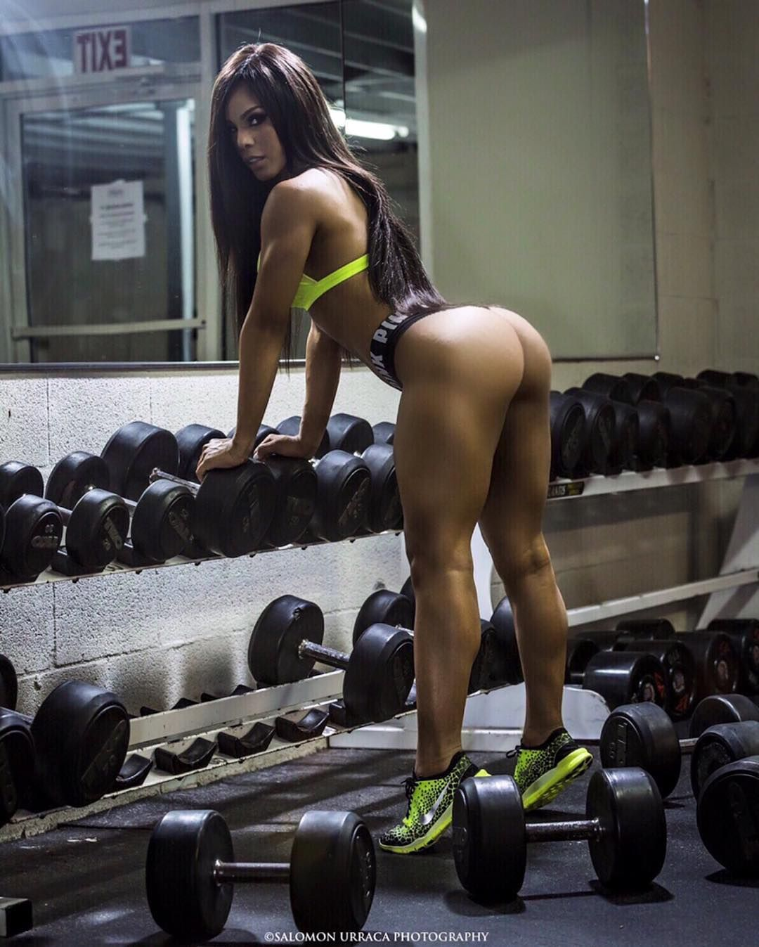 beautiful black girl at the gym naked thin