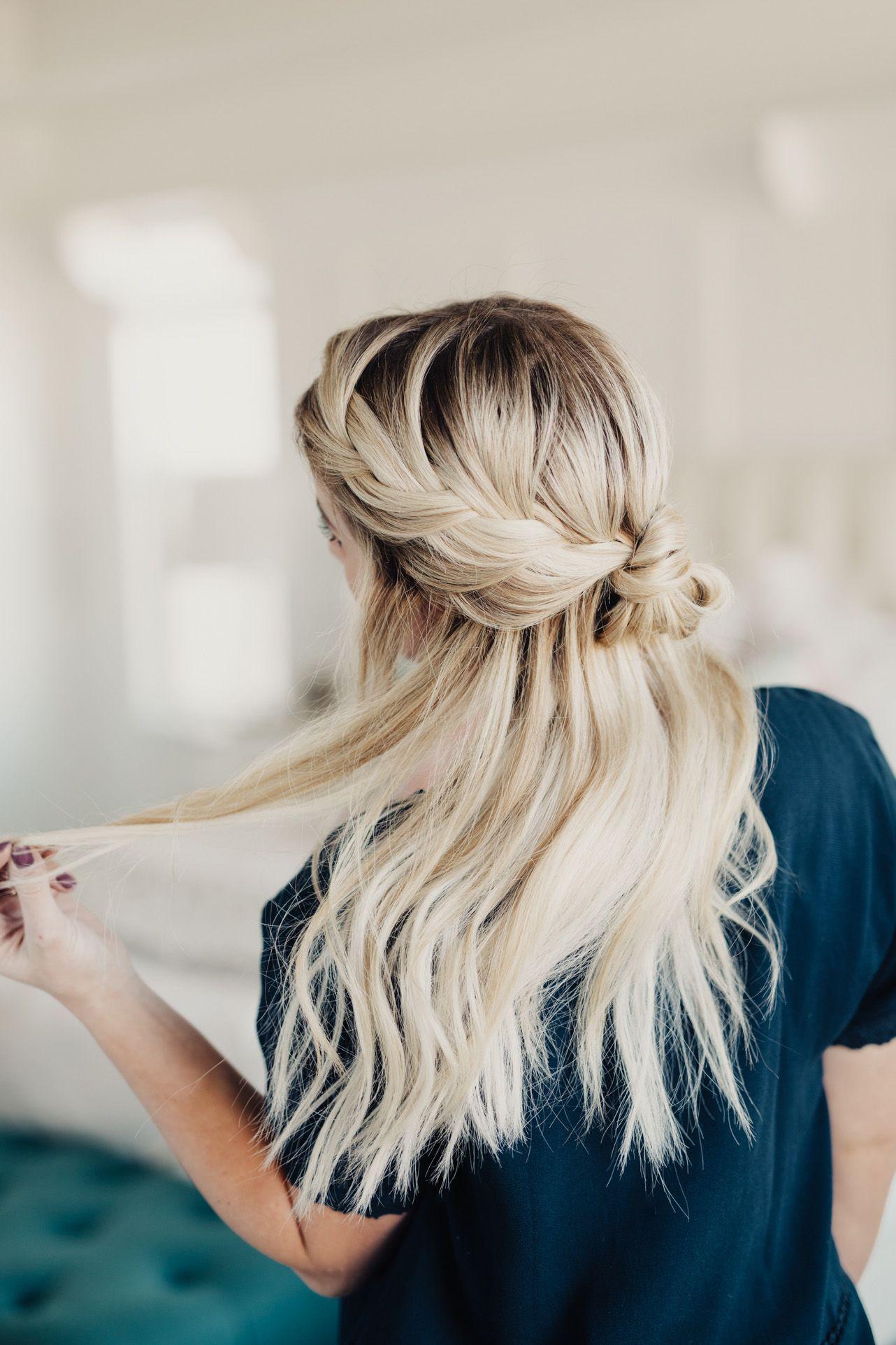 Romantic French Braided Bun - Twist Me Pretty | Hair | Pinterest ...