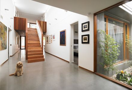 Best 1970 S Renovation Staircase Bower Architecture Caufield 400 x 300