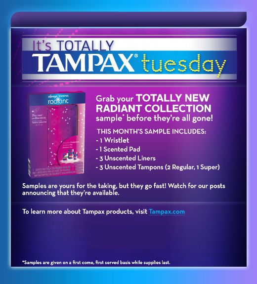 Saving  A Sunny Day Tamax Tuesday Free Wristlet And Samples
