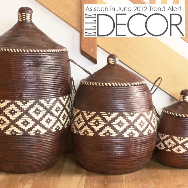 African Woven Baskets: African Products From