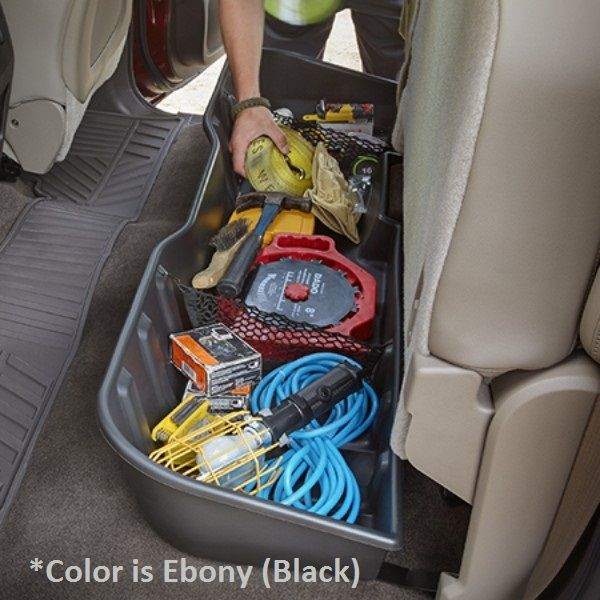 Contain Organize And Conceal Items Under The Rear Seat Of Your