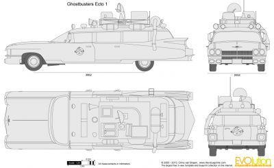 Ghostbusters Ecto 1 Ghostbusters Ghostbusters Car Ghostbusters