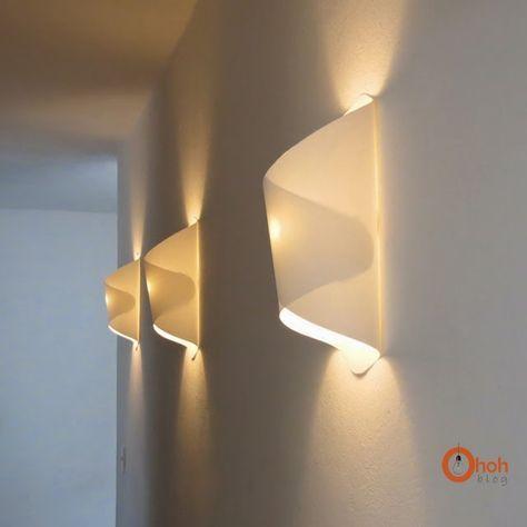 Papierne Wandlampe zum Selbermachen - perfekte Beleuchtung für den