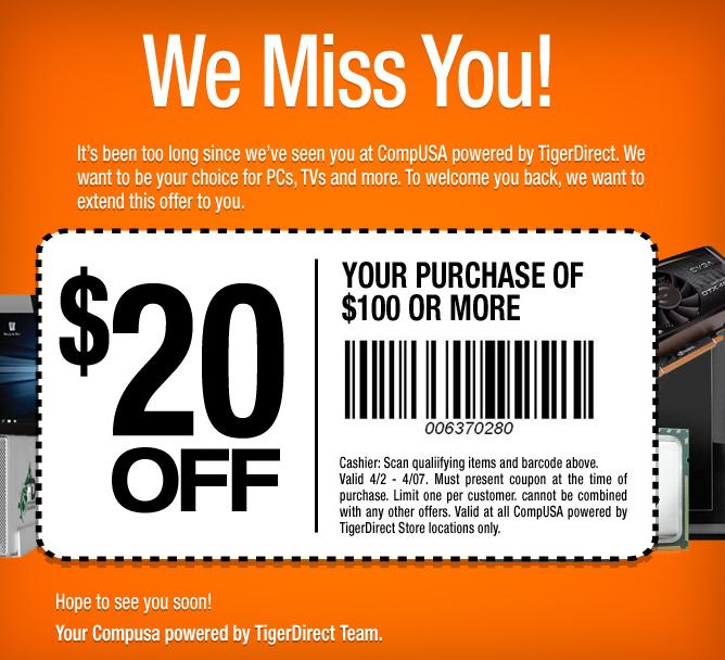 tigerdirect 10 coupon