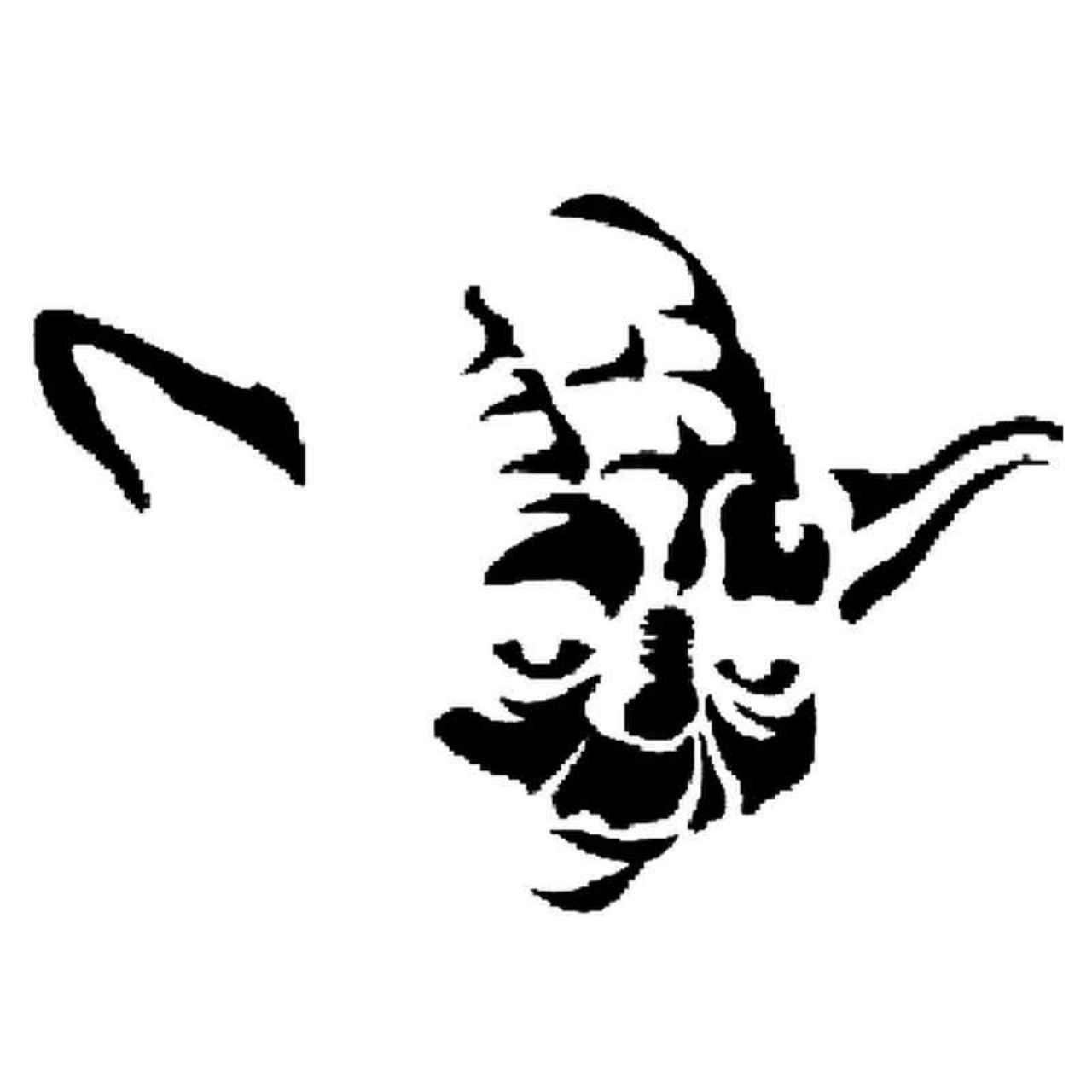 Star Wars Yoda 82 Decal Sticker