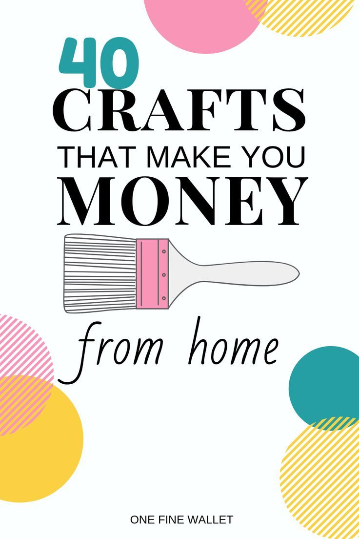Photo of Crafts that Make Money – 40 HOT crafts to sell (2019)